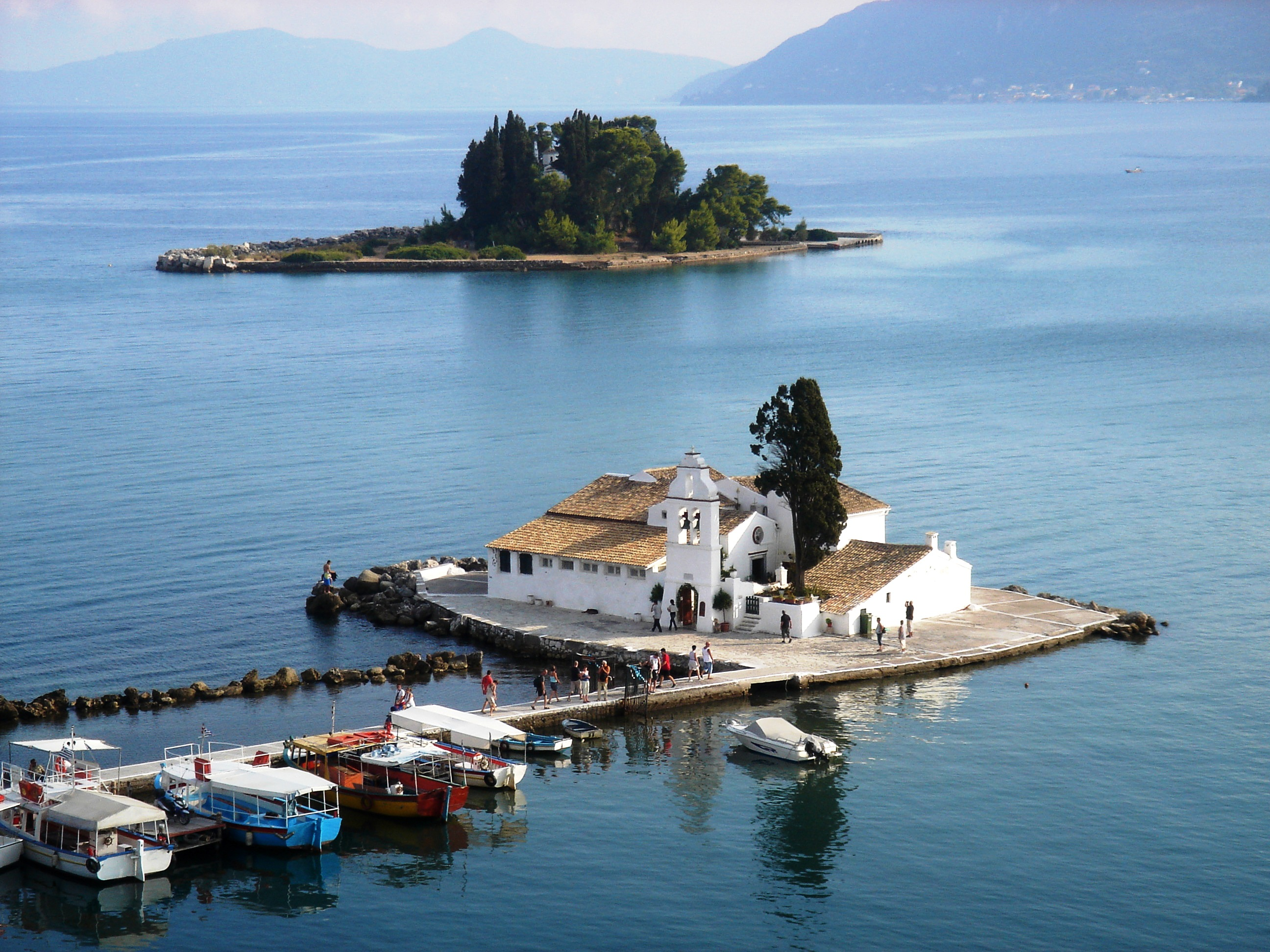 Corfu, one of the most romantic islands