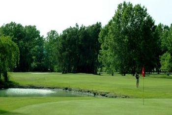 The golf Corfu in the meadow of Ropa