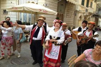 Traditional costumes of Corfu