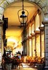 The cafes - Spianada square - Corfu Town