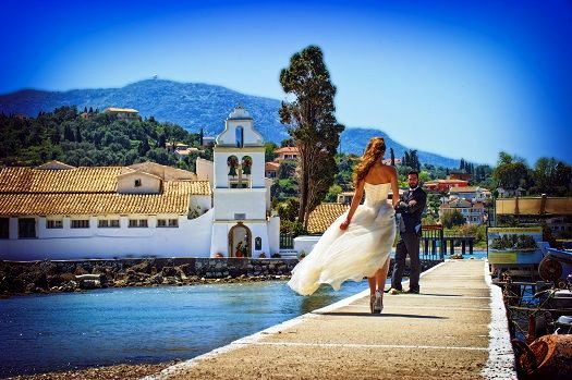 honeymoon in Corfu